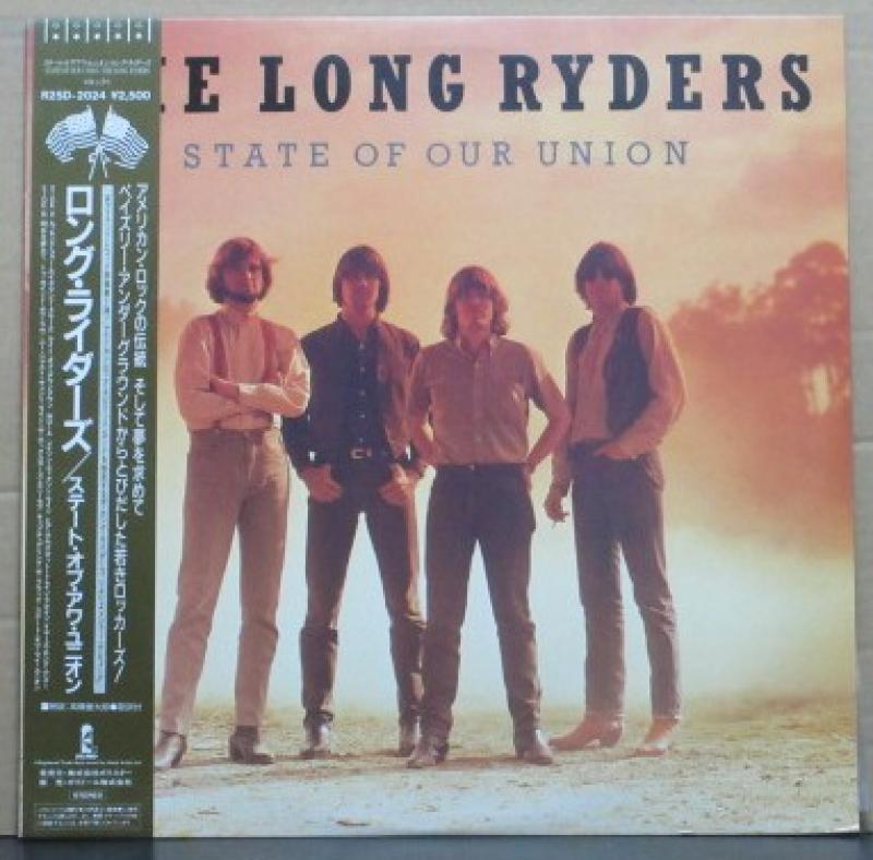 """ロング・ライダーズ/ステート・オブ・アワ・ユニオンのLPレコード通販・販売ならサウンドファインダー"""""""