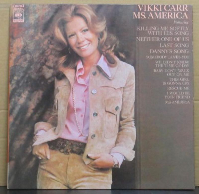 """ヴィッキー・カー/私はミズ・アメリカのLPレコード通販・販売ならサウンドファインダー"""""""