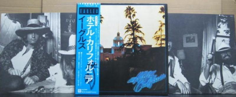 """イーグルス/ホテル・カリフォルニア(ポスター付き)のLPレコード通販・販売ならサウンドファインダー"""""""