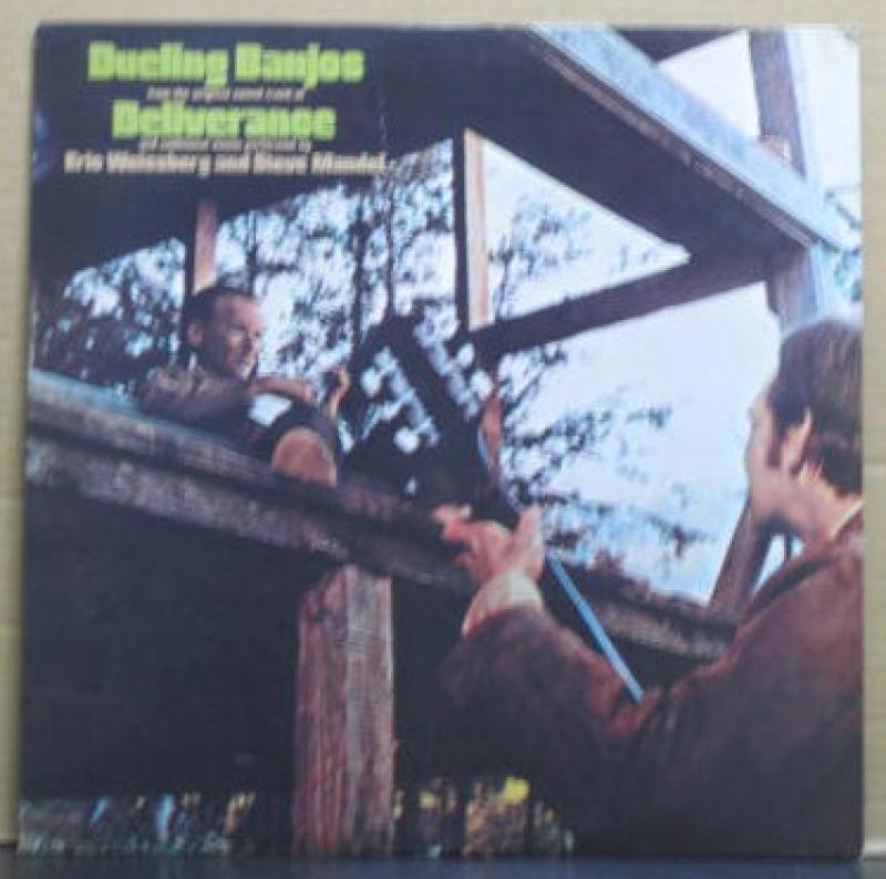 """エリック・ワイスバーグ&スティーヴ・マンデル/デュエリング・バンジョー(サウンドトラック)のLPレコード通販・販売ならサウンドファインダー"""""""