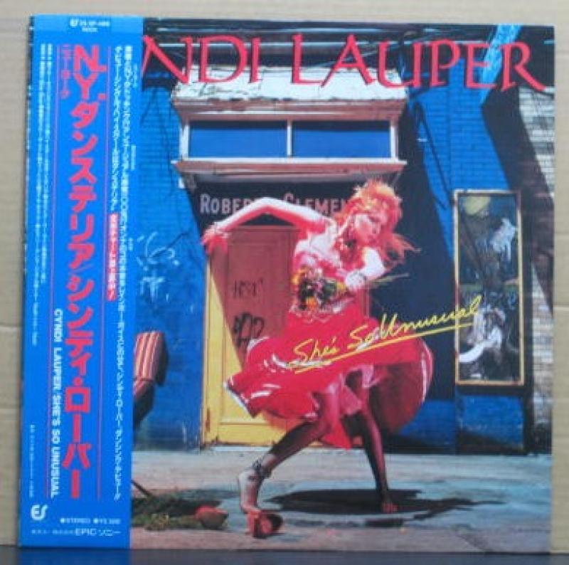 """シンディ・ローパー/N.Y.ダンステリアのLPレコード通販・販売ならサウンドファインダー"""""""