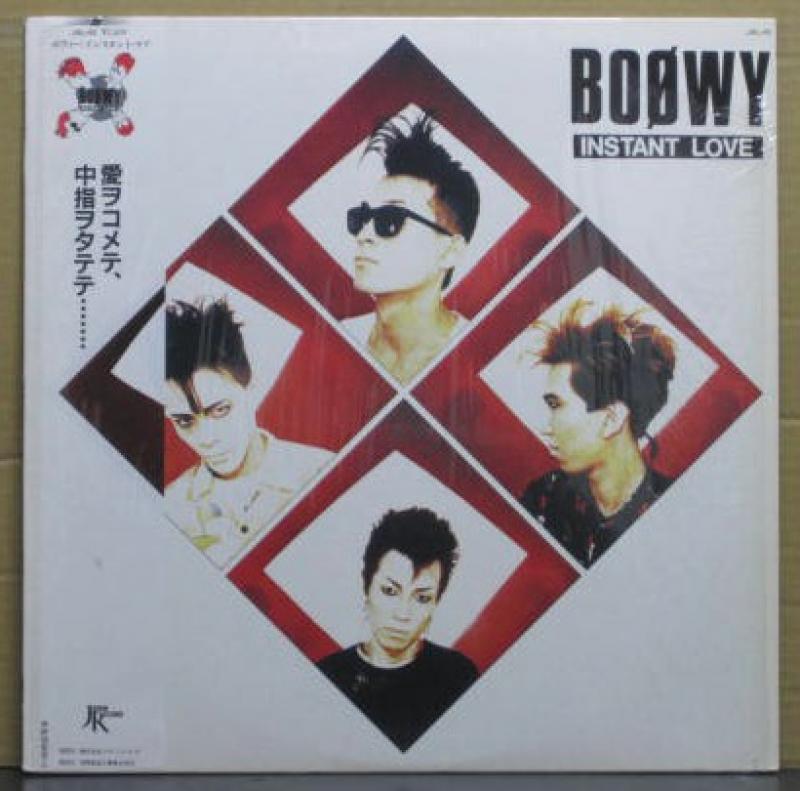 """ボウイ(BOOWY)/インスタント・ラブのLPレコード通販・販売ならサウンドファインダー"""""""