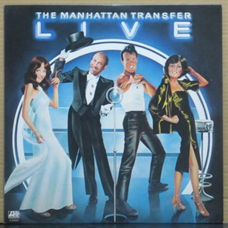"""マンハッタン・トランスファー/ライヴのLPレコード通販・販売ならサウンドファインダー"""""""