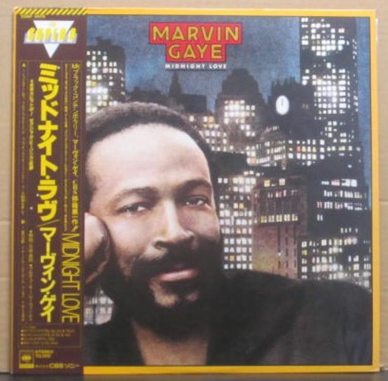 """マービン・ゲイ/ミッドナイト・ラヴのLPレコード通販・販売ならサウンドファインダー"""""""