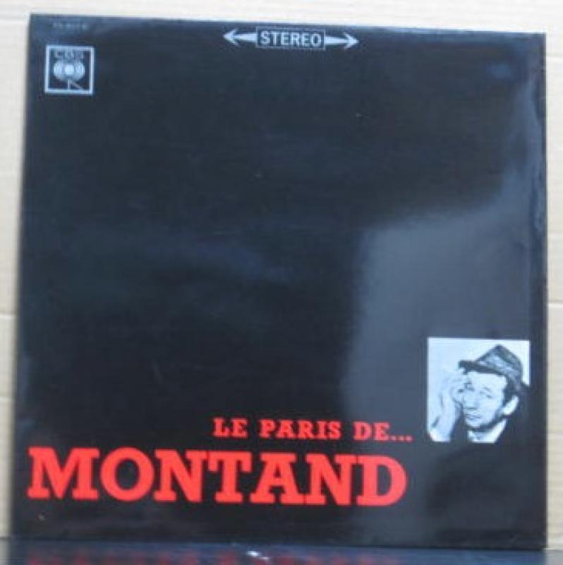 """イヴ・モンタン/モンタン、パリの心を歌うのLPレコード通販・販売ならサウンドファインダー"""""""