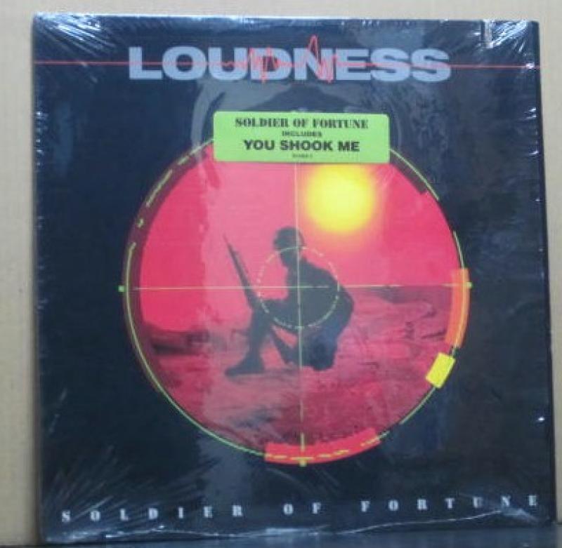 LOUDNESS(ラウドネス)/SOLDIER OF FORTUNEのLPレコード通販・販売ならサウンドファインダー