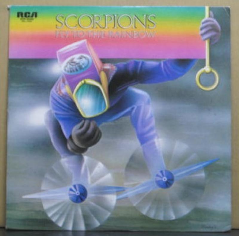 スコーピオンズ/電撃の蠍団のLPレコード通販・販売ならサウンドファインダー