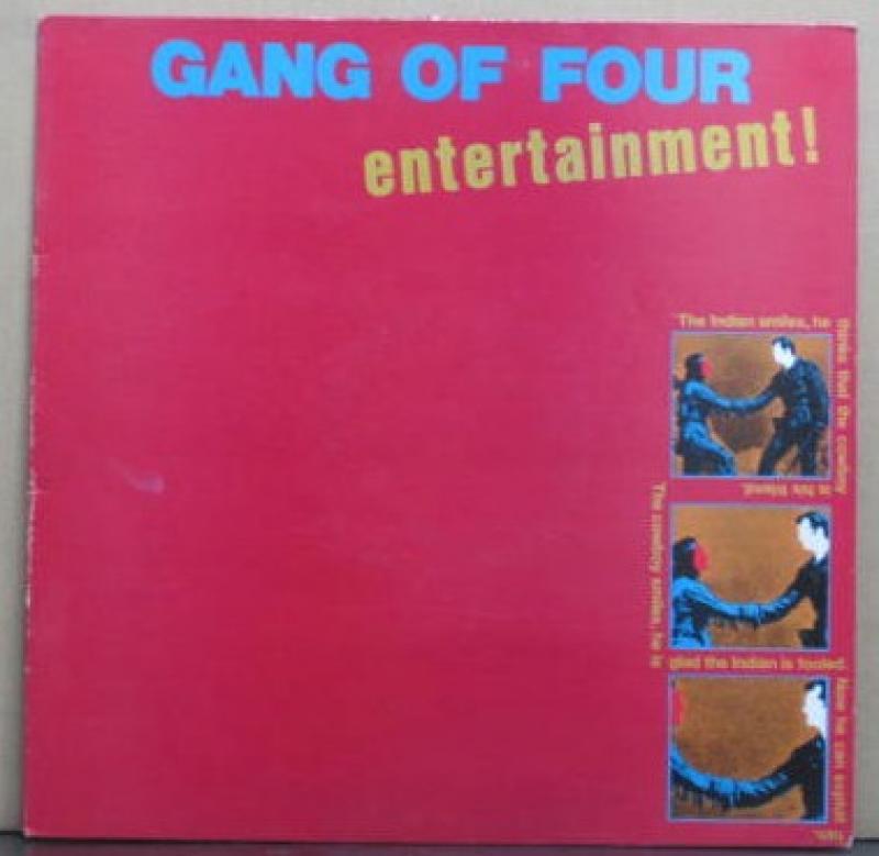 GANG OF FOUR/ENTERTAINMENT!のLPレコード vinyl LP通販・販売ならサウンドファインダー