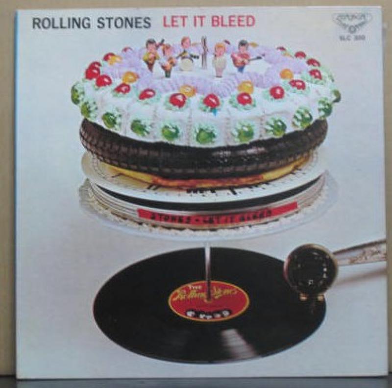 ローリング・ストーンズ/レット・イット・ブリードのLPレコード vinyl LP通販・販売ならサウンドファインダー