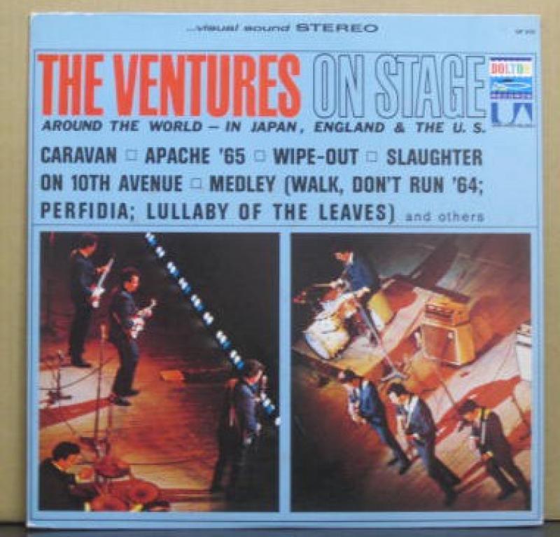 ベンチャーズ/オン・ステージのLPレコード vinyl LP通販・販売ならサウンドファインダー