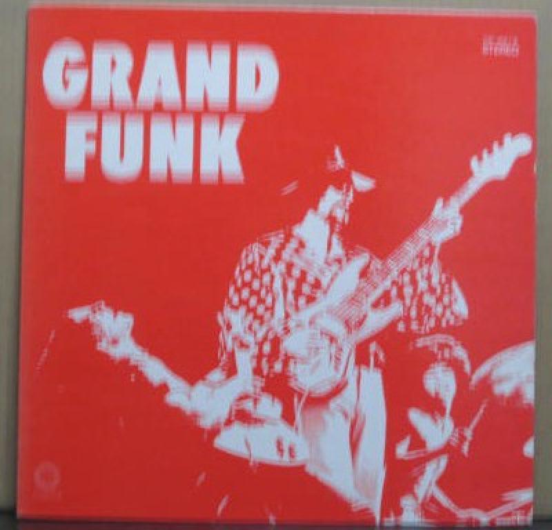 グランド・ファンク・レイルロード(GFR)/グランド・ファンク(赤盤)のLPレコード vinyl LP通販・販売ならサウンドファインダー