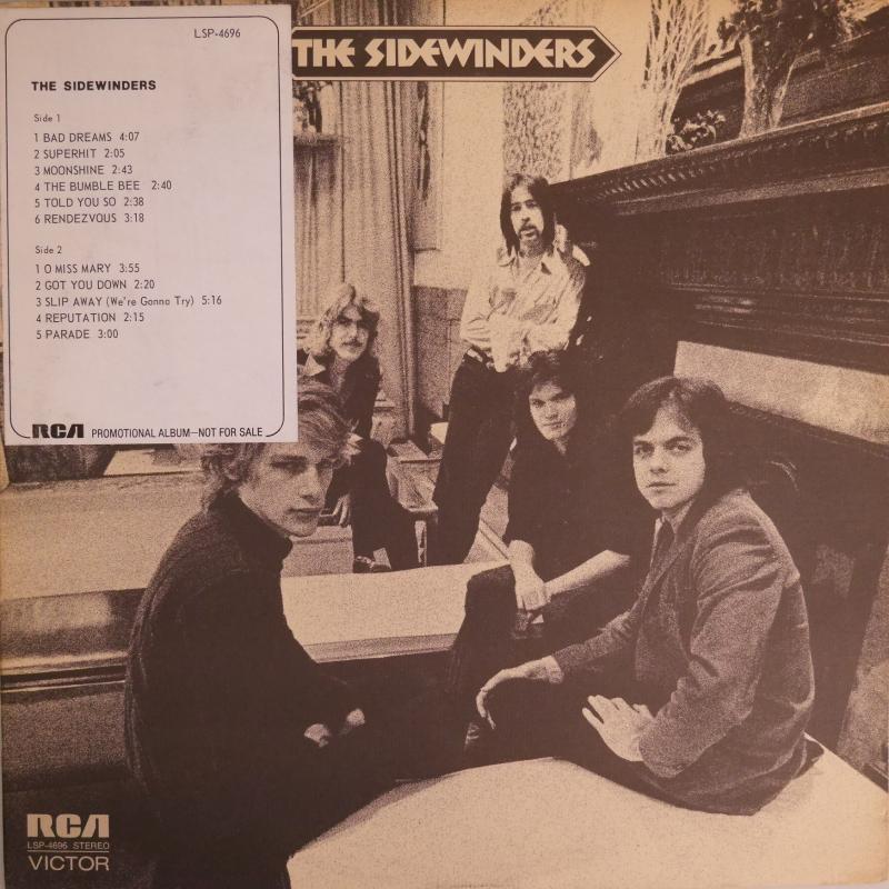 """SIDEWINDERS/サイドワインダース(プロモ盤)のLPレコード通販・販売ならサウンドファインダー"""""""