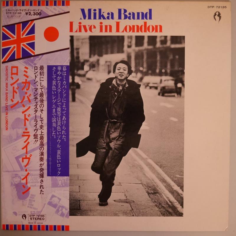 """サディスティック・ミカ・バンド/ミカ・バンド・ライヴ・イン・ロンドンのLPレコード通販・販売ならサウンドファインダー"""""""