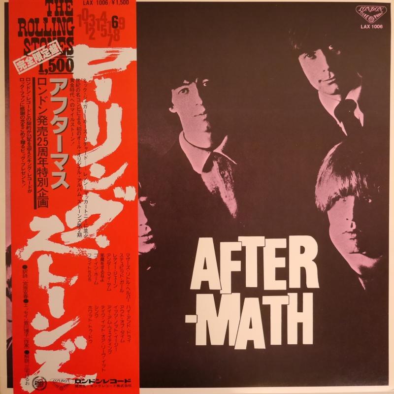 THE ROLLING STONES/Aftermath (シール付き)のLPレコード通販・販売ならサウンドファインダー