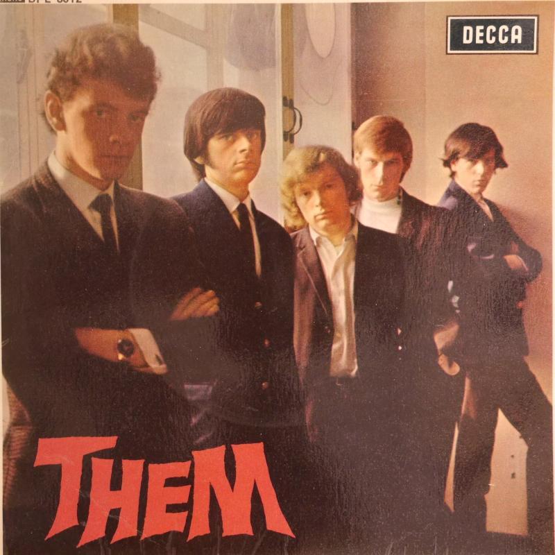 THEM/THEM (UK MONO PSつき)のシングル盤 vinyl 7inch通販・販売ならサウンドファインダー