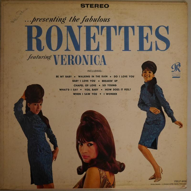 Ronettes/Presenting The Fabulous Ronettes Featuring VeronicaのLPレコード通販・販売ならサウンドファインダー