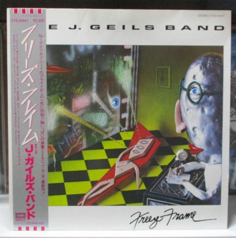 """Jガイルズ・バンド/フリーズ・フレイムのLPレコード通販・販売ならサウンドファインダー"""""""