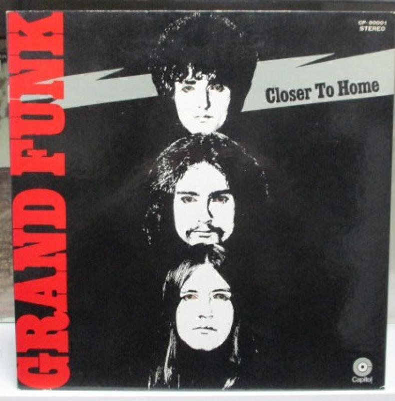 """グランド・ファンク/クローサー・トゥ・ホームのLPレコード通販・販売ならサウンドファインダー"""""""