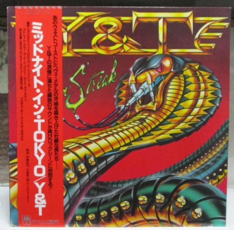 """Y&T/ミッドナイト・イン・TOKYOのLPレコード通販・販売ならサウンドファインダー"""""""
