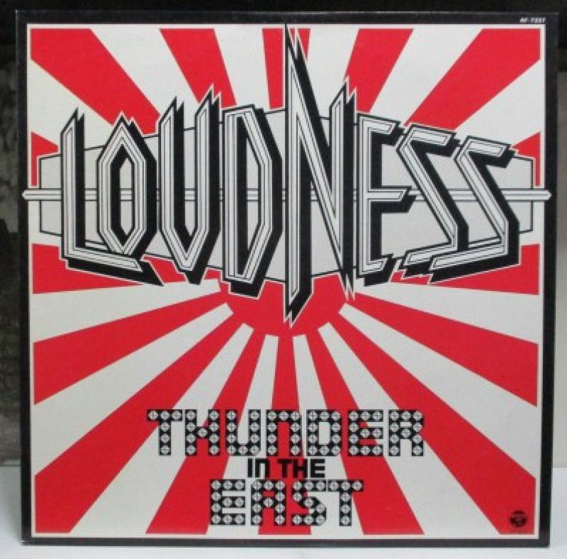 """ラウドネス/サンダー・イン・ジ・イーストのLPレコード通販・販売ならサウンドファインダー"""""""