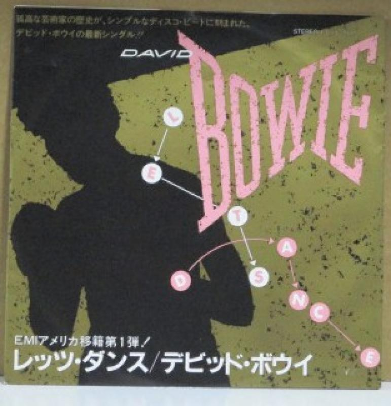 """デビッド・ボウイ/レッツ・ダンスの7インチレコード通販・販売ならサウンドファインダー"""""""