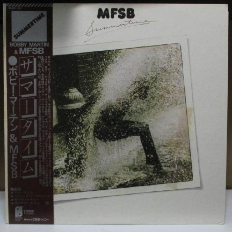 """ボビー・マーチン&MFSB/サマータイムのLPレコード通販・販売ならサウンドファインダー"""""""