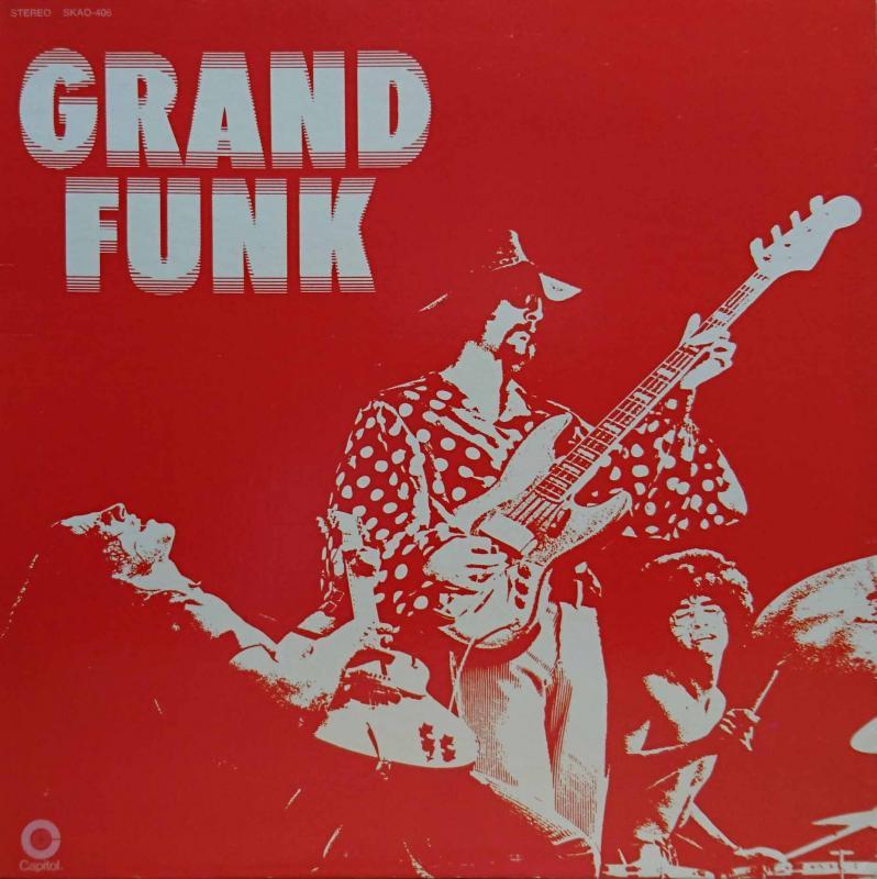 GRAND FUNK RAILROAD/Grand FunkのLPレコード通販・販売ならサウンドファインダー