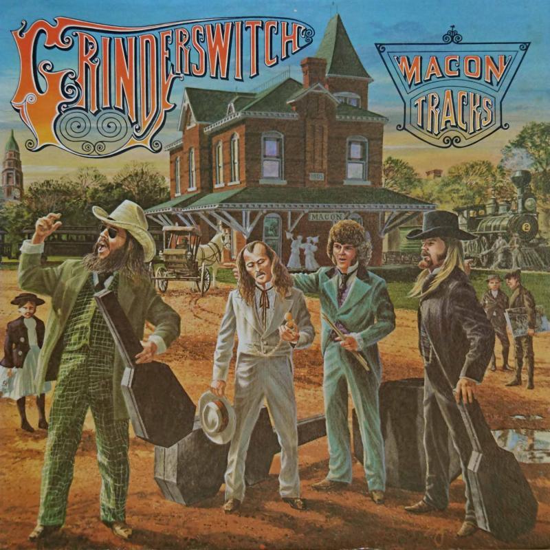 GRINDERSWITCH/Macon TracksのLPレコード通販・販売ならサウンドファインダー