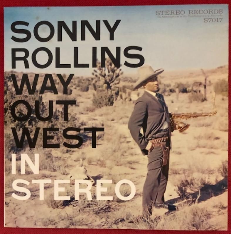 Sonny Rollins/Way Out WestのLPレコード通販・販売ならサウンドファインダー