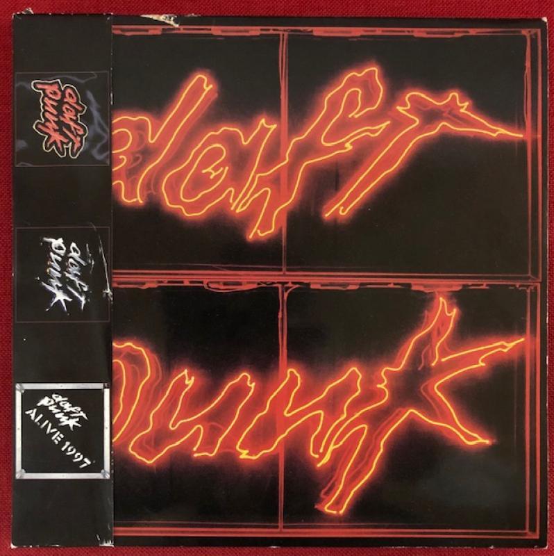 Daft Punk/Homework Discovery Alive1997ホームワーク ディスカバリー アライヴ1997のLPレコード通販・販売ならサウンドファインダー