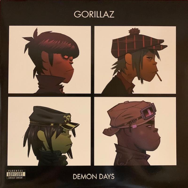 Gorillaz/Demon DaysのLPレコード vinyl LP通販・販売ならサウンドファインダー