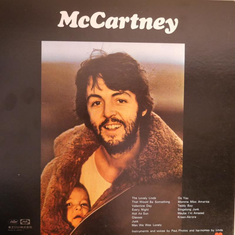 PAUL McCARTNEY/McCARTNEY レコード・CD通販のサウンドファインダー