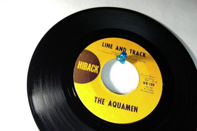 aquamen line and track/tomorrow is a long time