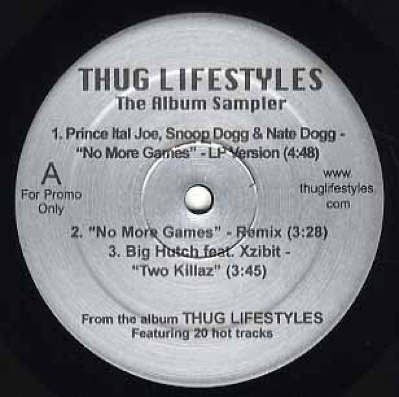 South Central Cartel  ft Daz Dillinger  / Prince I Huh What? / No More Games (Thug Lifestyles-Sampler)