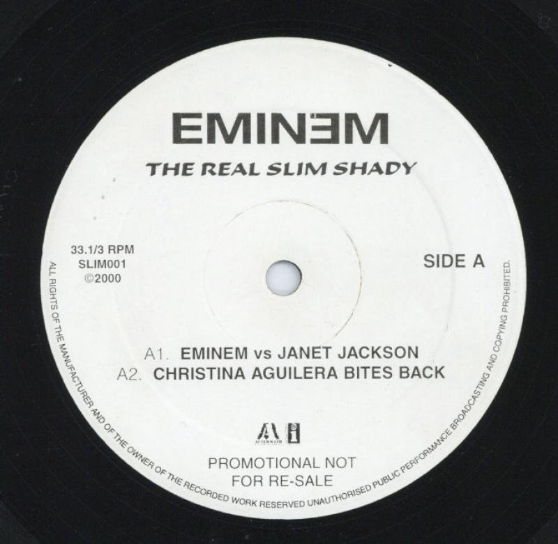 The real slim shady (album version) (clean) (instr) (a cap) by