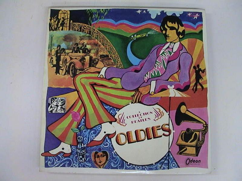 the beatles a collection of beatles oldies (red wax)