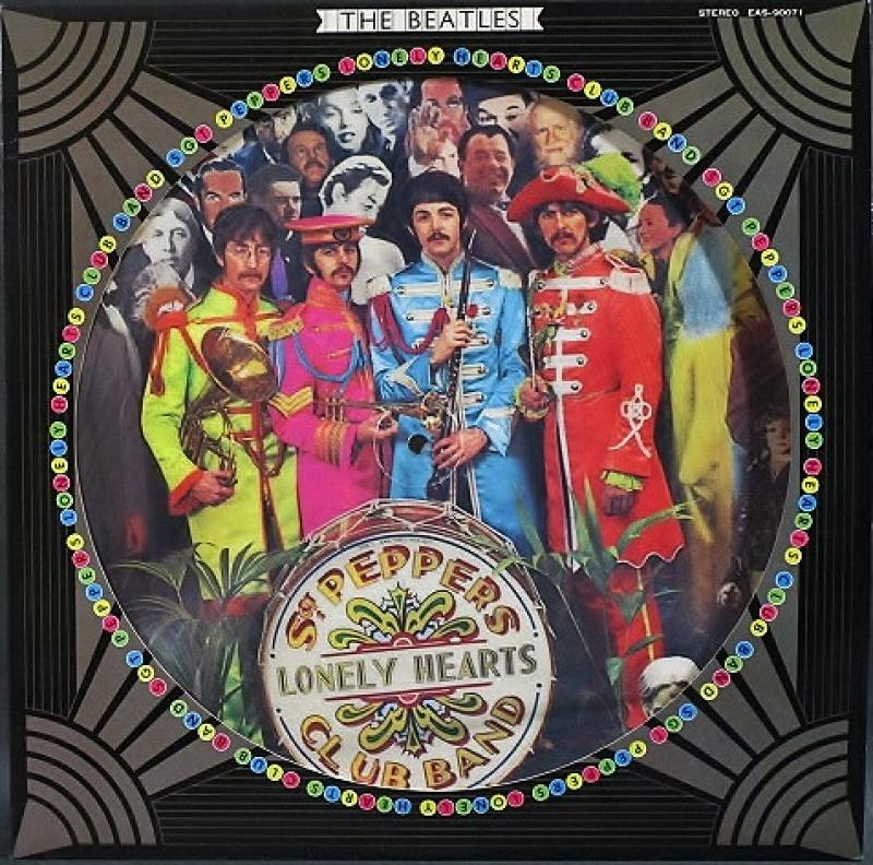 beatles ザ・ビートルズ sgt. pepper's lonely hearts club band サージェント・ペパーズ・ロンリー・ハーツ・クラブ・バンド