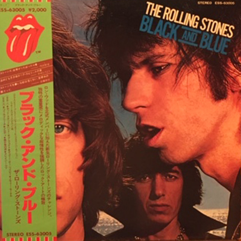 the rolling stones ? ローリング・ストーンズ black and blue ブラック・アンド・ブルー