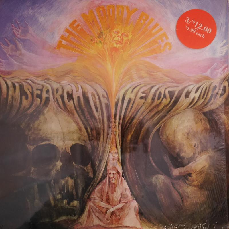 In Search Of The Lost Chord By Moody Blues Lp Gatefold With